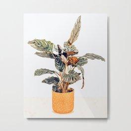 Botany || #illustration #painting #nature Metal Print