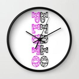 Royal Pluto Wall Clock