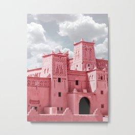 Traditional Moroccan Buildings  Metal Print