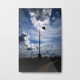 Old Glory Over Fort Sumter Metal Print
