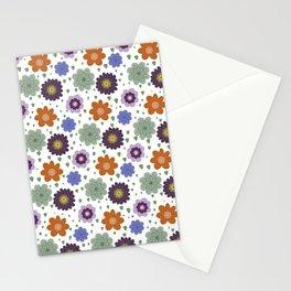 Thursday's Flowers - Retro Light Stationery Cards