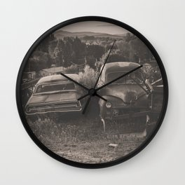 Baker Ranch Wall Clock