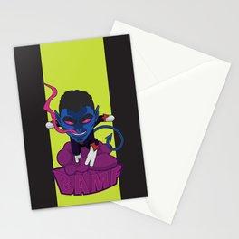 Ze Incredible Nightcrawler Stationery Cards