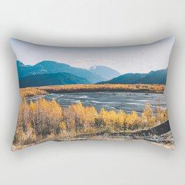 Alaskan Autumn - Kenai Fjords National Park Rectangular Pillow