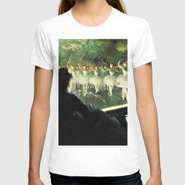 The White Ballet - Everett Shinn T-shirt