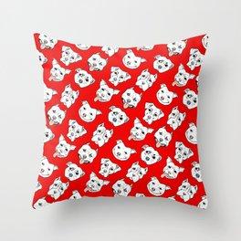 Pittie Pittie Please! Throw Pillow