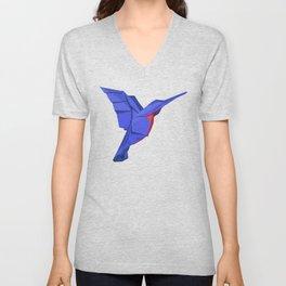 Origami Colibri Unisex V-Neck