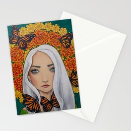 October - Marigold Stationery Cards