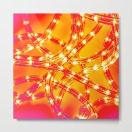 Neuro Light Metal Print