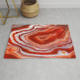 Red Agate Rug