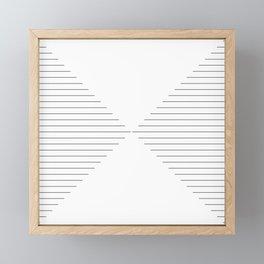 Converge Two Framed Mini Art Print