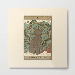 Wheel Of Fortune Metal Print