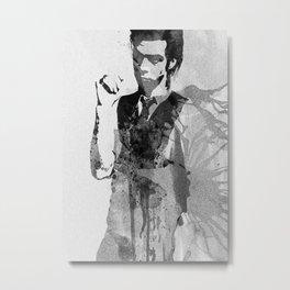 Legendary Nick Cave Metal Print