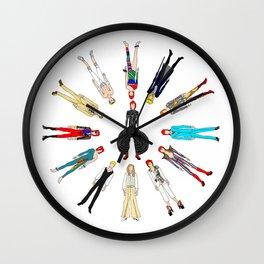 Heroes Circle Group Wall Clock