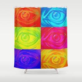 Stolen glances Shower Curtain