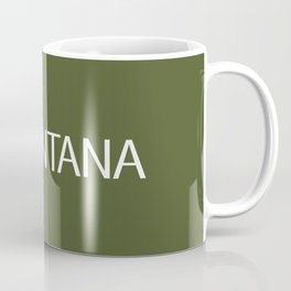 Montana: Moose (Mountain Green) Coffee Mug