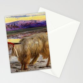 William Holman Hunt - The Scapegoat - Digital Remastered Edition Stationery Cards