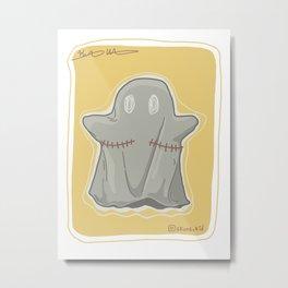 Ftm ghost- Post Op (top surgery) Metal Print