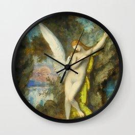 "Gustave Moreau ""Leda et le Cygne (Leda and the Swan)"" Wall Clock"