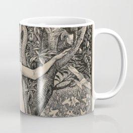 Eve And The Serpent Coffee Mug