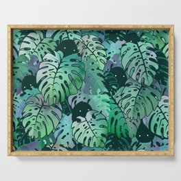 Monstera Monsters Serving Tray