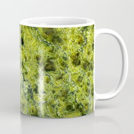Natural stone drawing - a magnificent serpentine Coffee Mug