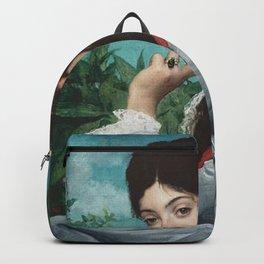 Jules-Élie Delaunay - Portrait de Mademoiselle Stephanie Brousset Backpack