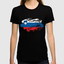 Slovenia Flag Shirt T-shirt