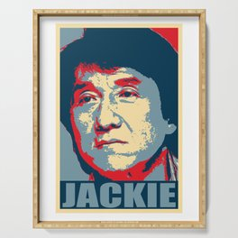 Jackie Chan Hope Serving Tray