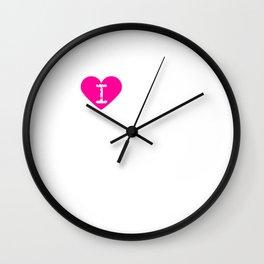 I Heart Satan | Love Satan Wall Clock