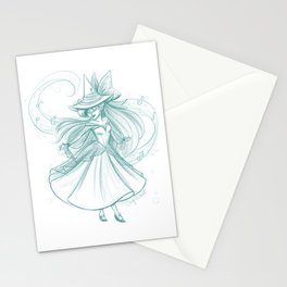 Witch of Song Stationery Cards
