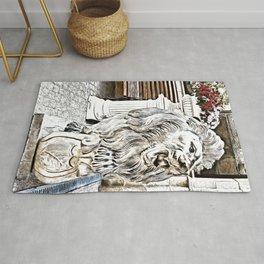 A Lion-Guard Rug
