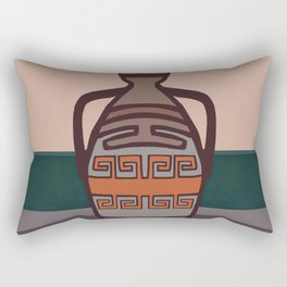Grecian urn Rectangular Pillow