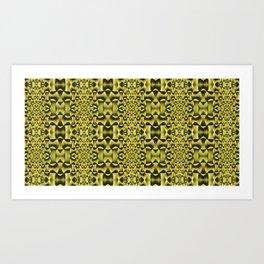 Yellow Haze Art Print