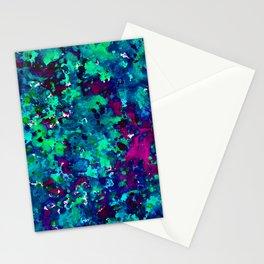 Midnight Oil Spill Stationery Cards