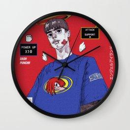 knuckles boy Wall Clock