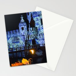 Blue Tower Stationery Cards