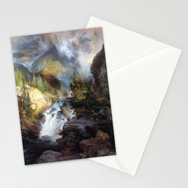 Thomas Moran Children of the Mountain Stationery Cards