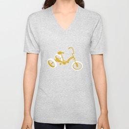 tricycle 01 Unisex V-Neck