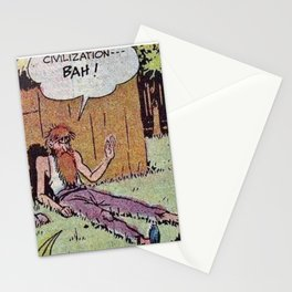 Civilization, Bah! Stationery Cards