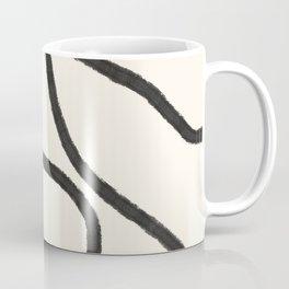 Thick Continuous Line Series 3 | Boho Home Decor, Modern Wall Art, Continuous Line Art, Contour Line Coffee Mug