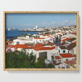 Sao Miguel, Azores Serving Tray