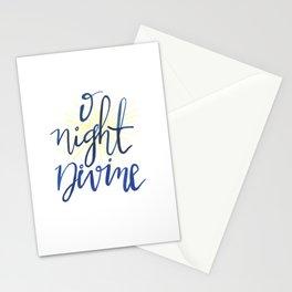 O Night Divine Stationery Cards