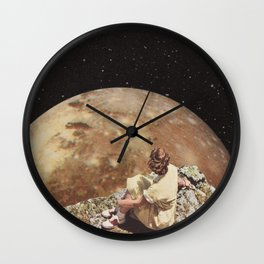 She's going to change the world ... Wall Clock