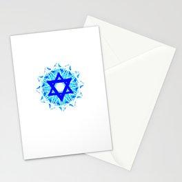 Jewish Star Stationery Cards
