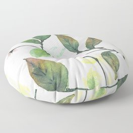 Dogwood Painting Floor Pillow