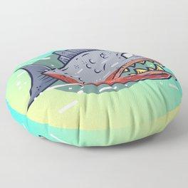 Piranha Floor Pillow