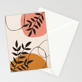 Morning Abstract Stationery Cards