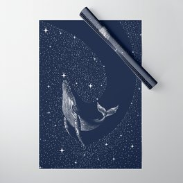 starry whale Wrapping Paper