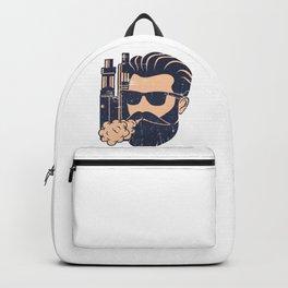 Cloud Chaser - Vaping Bearded Man Backpack
